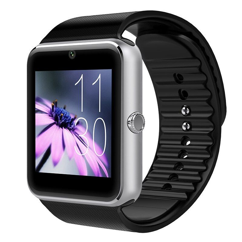 Smart Watch GT08 Plus Clock <font><b>Sync</b></font> Notifier Support TF SIM Card Bluetooth Connectivity Android Phone Smartwatchs Alloy Smartwatch