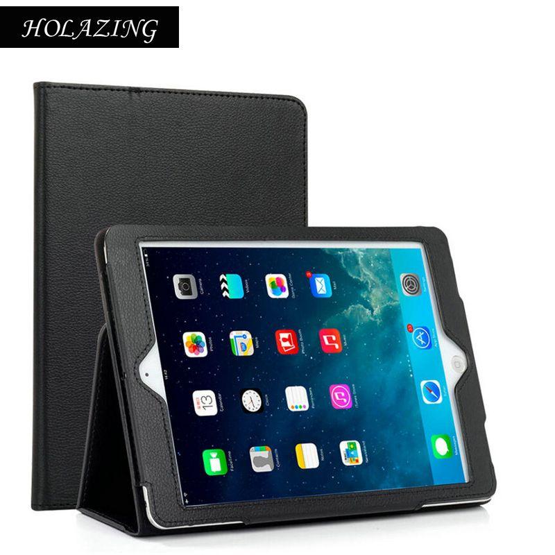 Стенд Особенности Фолио флип чехол для iPad Air 2 искусственная кожа авто сна Пробуждение всего Средства ухода за кожей Защитная крышка для air2 д...