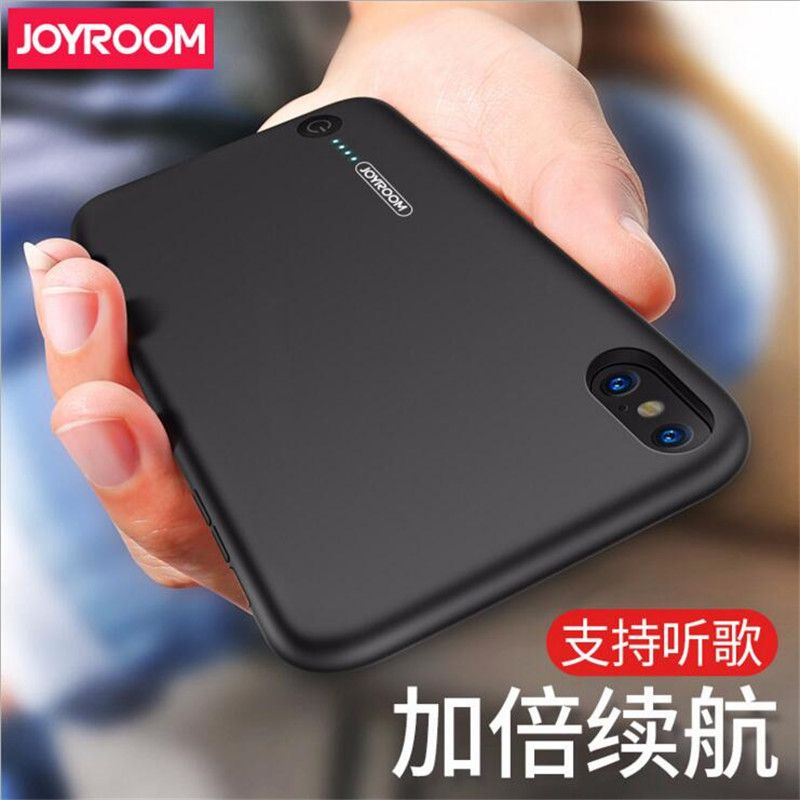 JOYROOM Original Battery Charger Case For iPhone X Backup Phone Cases Power Bank Cover 3500mAh With 3.5mm Earphone Port