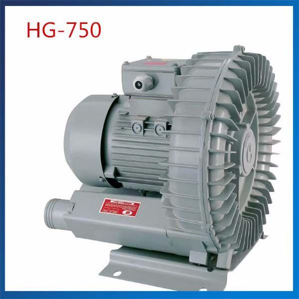 HG-750 50 HZ/60 HZ Vortex Gebläse Seitenkanalverdichter Vakuumpumpe 120M3/H Elektrische Luftpumpe