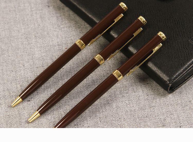 3025G Nouvelle fontaine stylo clip or argent clip en option fontaine stylo d'encre stylo pour le cadeau emballage
