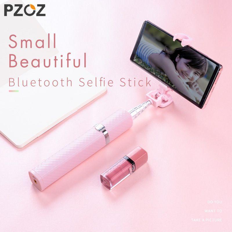 PZOZ Bluetooth Selfie Stick Für iPhone X 8 Für Samsung Huawei Xiaomi Handy Einbeinstativ Universal-Mini Wireless Selfie Sticks