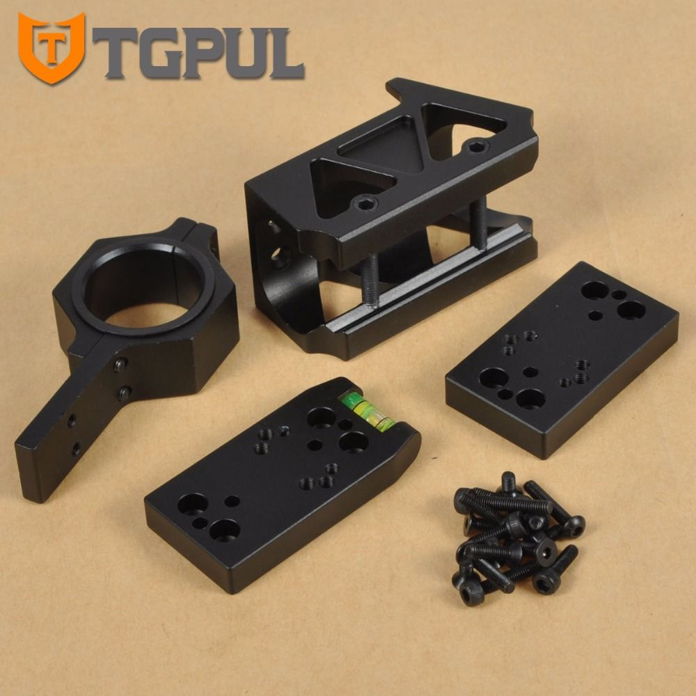 TGPUL Docter RMR DP PRO T1 T2 Red Dot Sight Combo Scope Mount Multifunctional Mount With Riser Mount For Airsoft