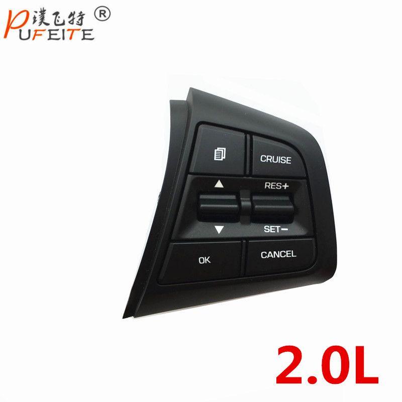 100% Original Steering Wheel Button For Hyundai ix25 (creta) 2.0L Steering Wheel Cruise Control Buttons Only RIGHT Side