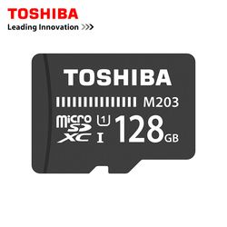 Toshiba Carte Mémoire 128 GB 64 GB 32 GB 16 GB micro sd carte Class10 UHS-1 Flash carte Mémoire Microsd pour Smartphone/Tablet 8 GB Classe 4