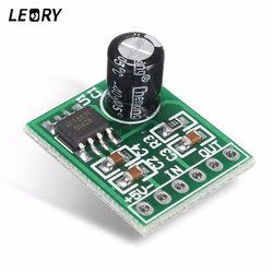 LEORY XPT8871 Mini Mono Digital Operational Audio Amplifier Board Low Power Consume Amplifer Chip Board 20x16x8mm
