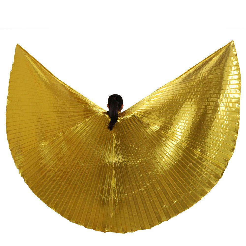 2016 femmes chaudes de haute qualité danse du ventre Isis ailes Design Oriental nouvelles ailes sans bâtons