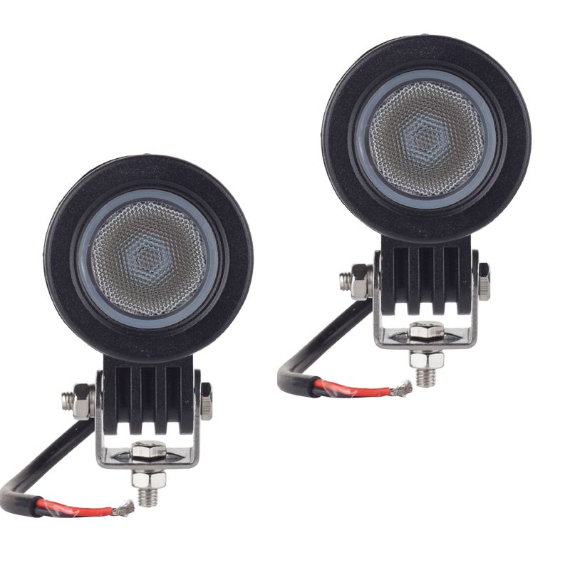 <font><b>2pcs</b></font> CREE chip 10W LED Work Light 2 Inch 12V Car Auto SUV ATV 4WD 4X4 Offroad LED Fog Lamp Motorcycle Truck Headlight