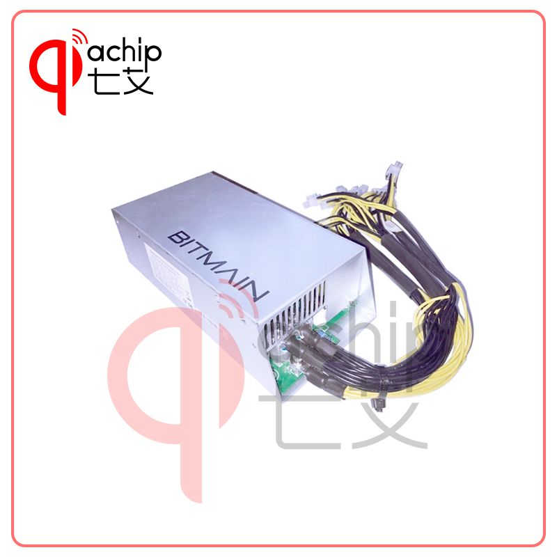 QiaChip Brand New Official Original Bitmain APW3+ 12V 133A MAX 1600W suitable for ANTMINER S7 S9 L3+ D3 A3 V9 Baikal X10 M3