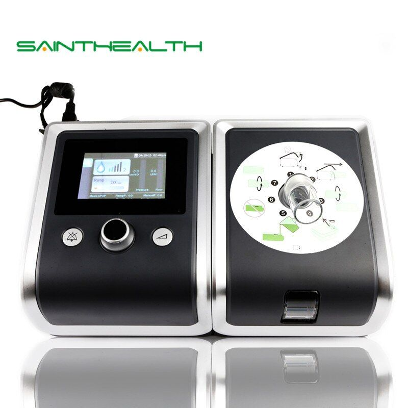 GII Auto CPAP Machine E-20AH-O Smart Home Ventilator For Sleep Snoring Apnea With Humidifier Mask Hose SD Card Free Shipping
