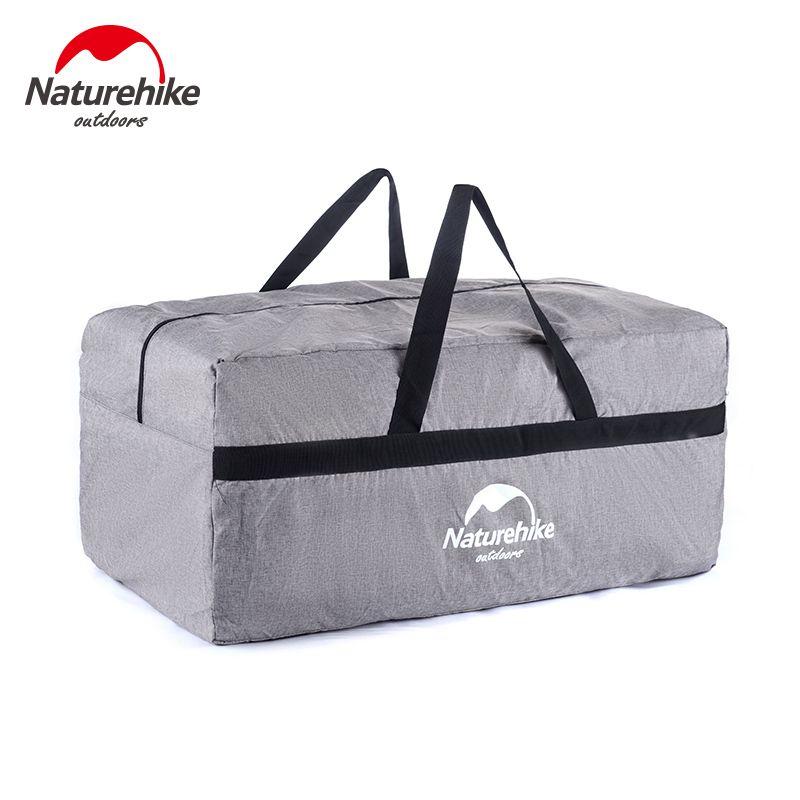Naturehike 100l nylon faltbare taschen hand große kapazität sporttasche sporttaschen frauen tragbare einzelnen schulter gym totes plus größe