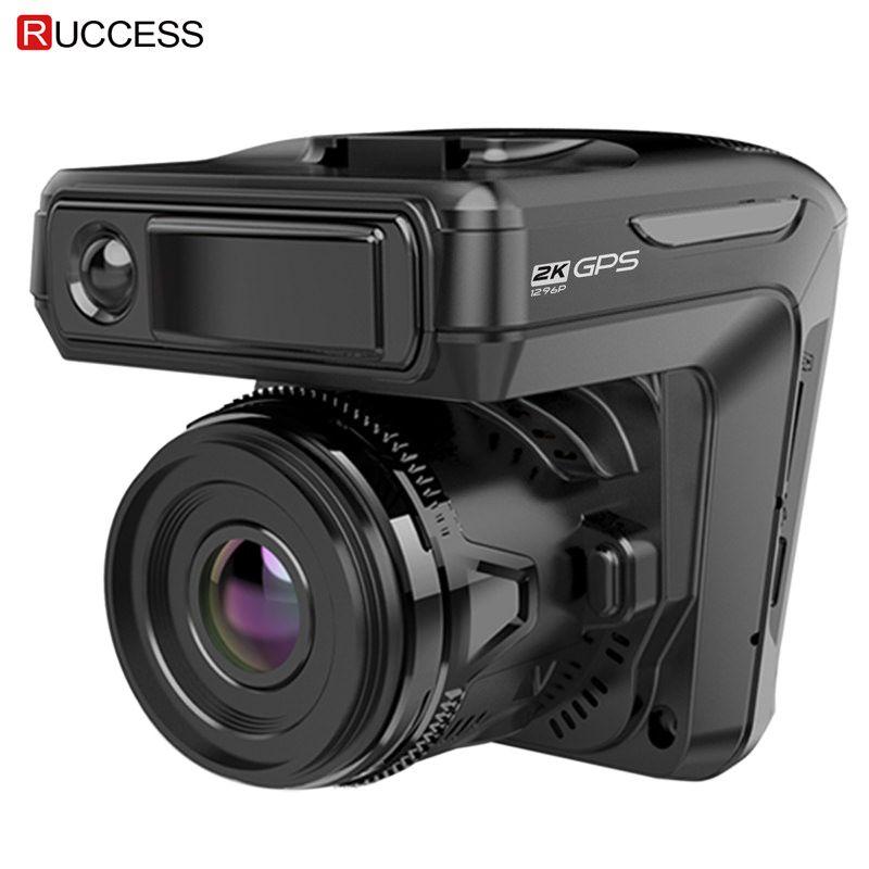 Neue 3 in 1 Auto DVR Dash cam GPS 1296 p Auto Kamera Dual Lens Video Recorder Dashcam Auto Registrator anti Radar Russland Stimme