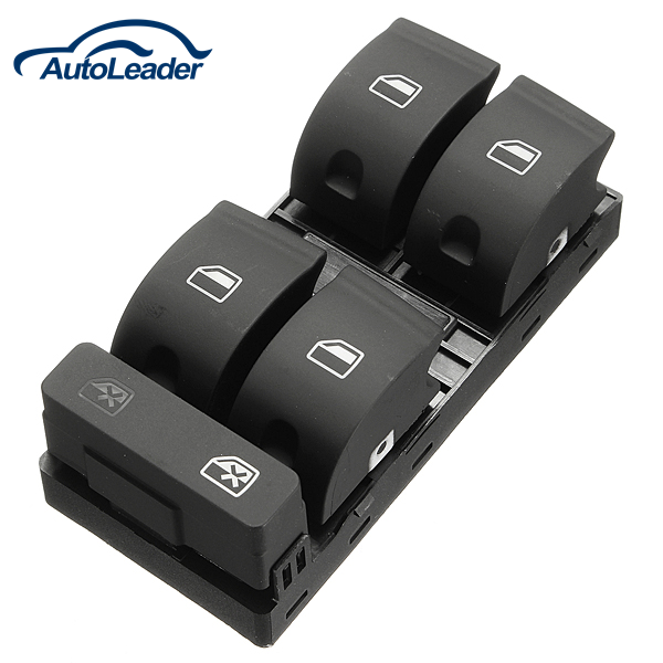 Electric Master Window Control Switch Driver Side For Audi A4 B6 B7 8E0959851B