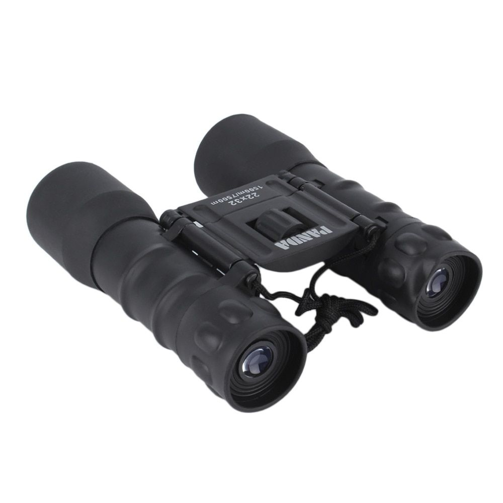 Portable Folding Day Night 22x32 Binoculars Telescope (150m-750m) Zoom High Magnification Vision Binoculars for Outdoor
