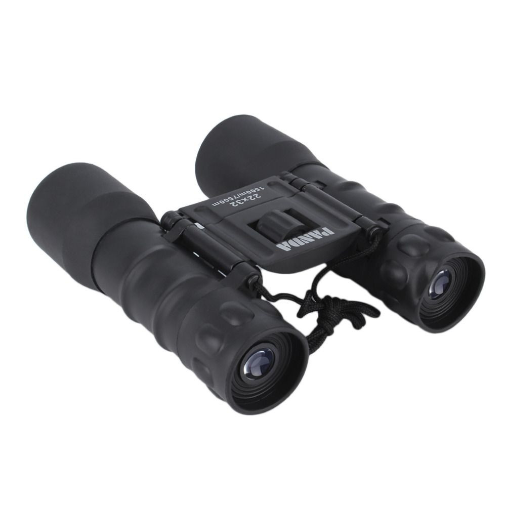 Portable Folding Day Night 22x32 Binoculars Telescope (150m-750m) Zoom High Magnification Vision Binoculars for Outdoor
