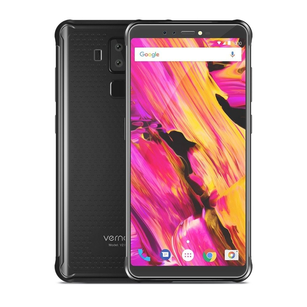 Vernee V2 Pro Smartphone MT6763 Octa Core 6GB RAM 64GB ROM Android 8.1 21MP 6200mAh 4G LTE 5.99 Inch IP68 Waterproof RuggedPhone