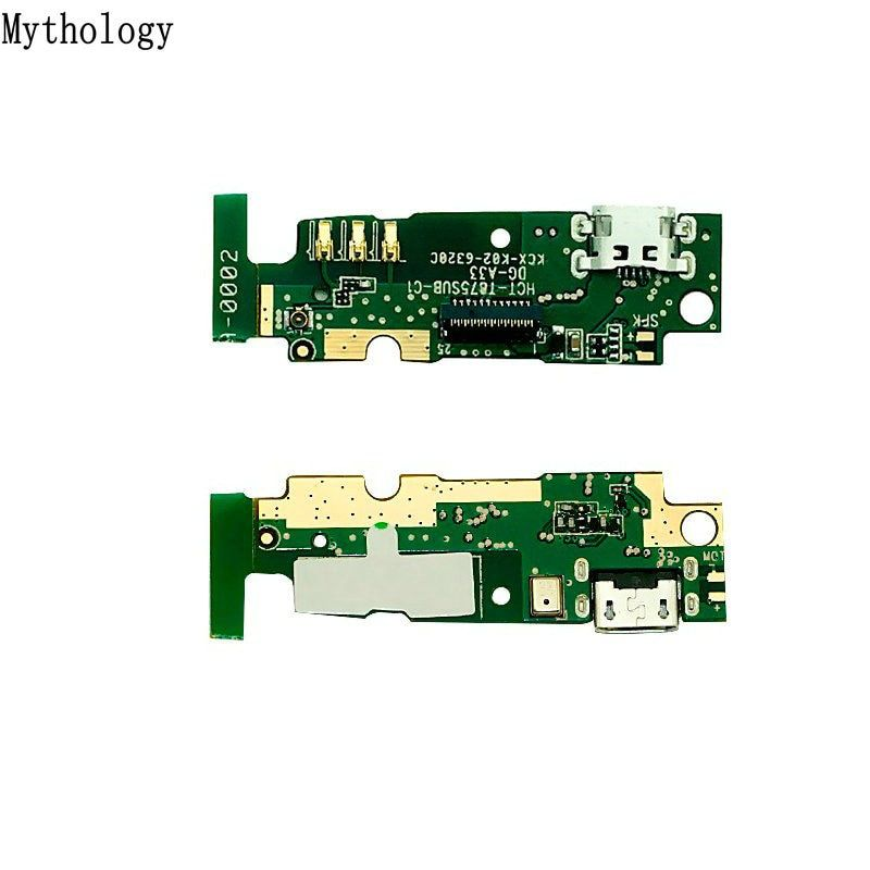 Mythology For Homtom HT6 USB Board Flex Cable Dock Connector microphone 5.5 inch Mobile Phone Charger Circuits Part