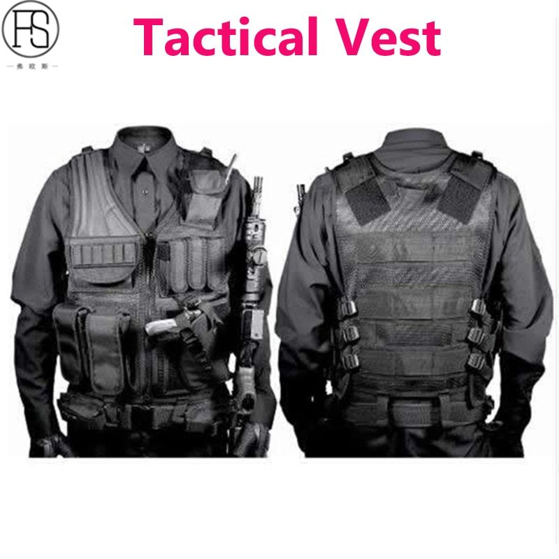 Tactical Vest Military Equipment Airsoft Hunting Vest Training Paintball Airsoft Combat Protective Vest For CS Wargame 4 Colors
