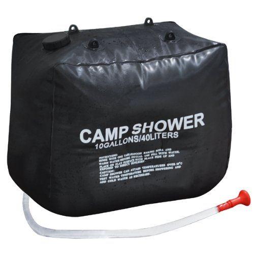 40L chauffage solaire randonnée Camping Camp sac de douche cas lavage en plein air