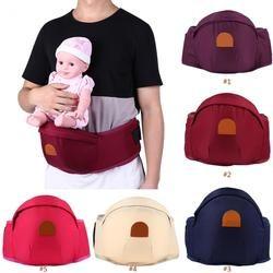 Portador de bebé ergonómico bebé cintura heces Walker Hipseat ajustable Niño frente titular sostenedor soporte de cinturón cadera cinturón