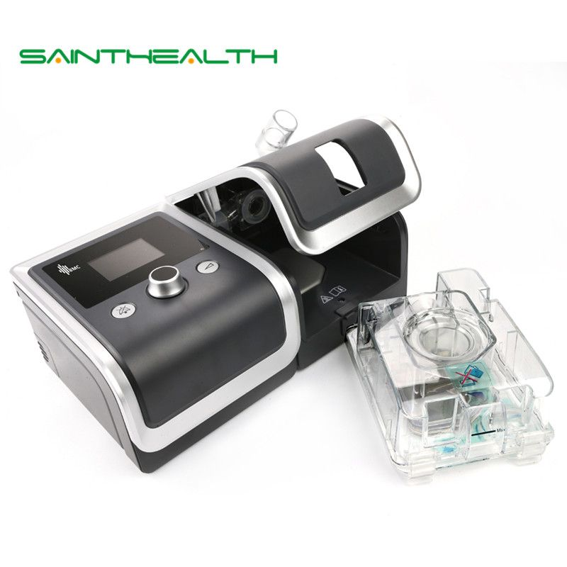 GII CPAP Gerät Portable Ruhig Atemschutzmaske Mit Nasenmaske Luftbefeuchter Filter Kunststoffschlauch Tasche Der Beste Schlaf Schnarchen Lösung