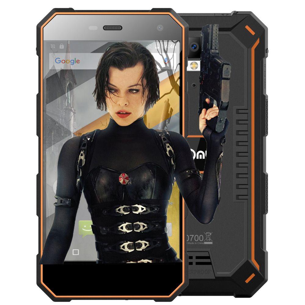 Nomu S10 IP68 Waterproof 4G Smartphone 5.0 Inch HD 5000mAh Dustproof Cellphone MTK6737 Quad Core 2GB+16GB Android Mobile Phone