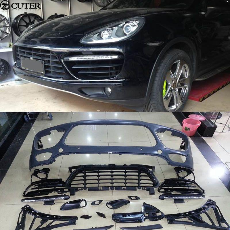 GTS Turbo stil PP frontschürze Auto körper kit für Porsche Cayenne GTS turbo 11-14