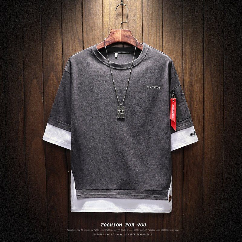 2019 new Tshirt men half sleeve o-neck men hip hop t shirt printed famous brand tshirt men brand hip hop Masculine tshirt