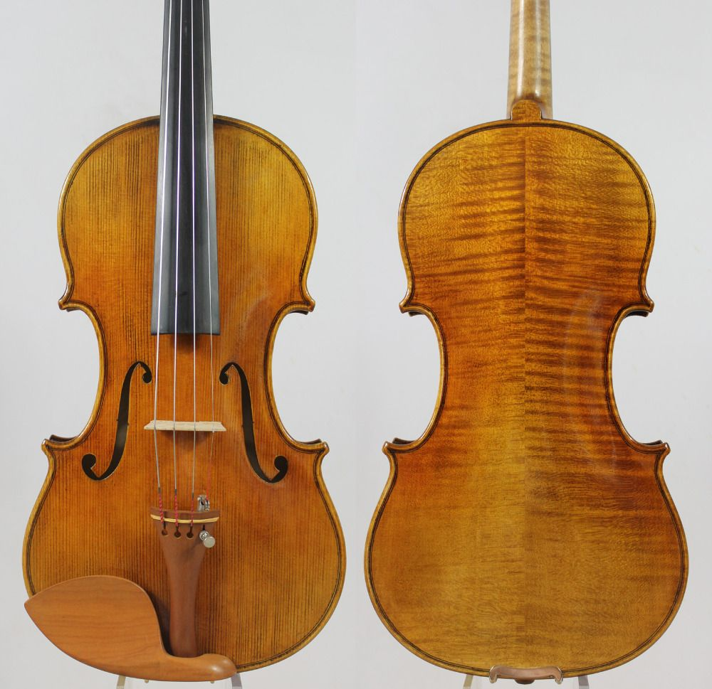 Special offer!!!Guarneri 1743 Cannon 4/4 Violin Powerful tone!