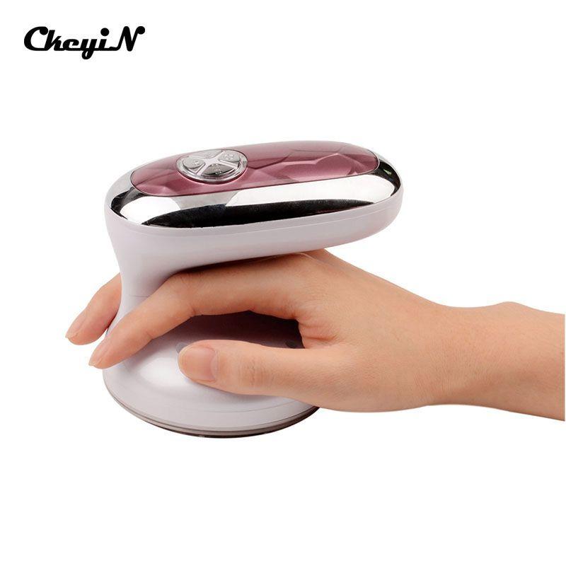 CkeyiN Ultrasonic Body Slimming Massage Machine LED Cavitation Photon Radio Frequency RF therapy Weight Loss Fat Burner S50
