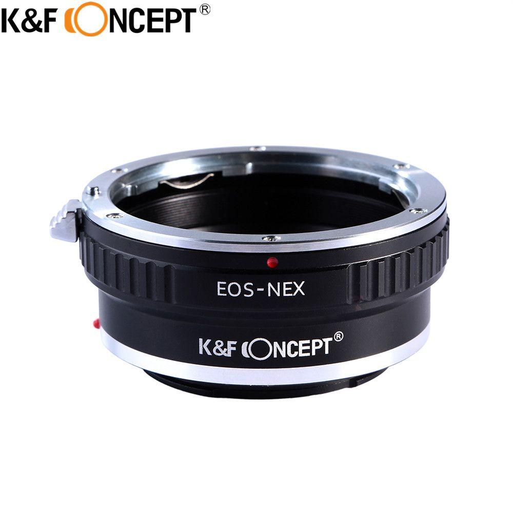 K & F CONCEPT Pour EOS-NEX Camera Lens Adapter Ring Pour Canon EOS EF Objectif pour pour Sony NEX FS100 FS 100 FS 700 FS 700 VG10 VG20