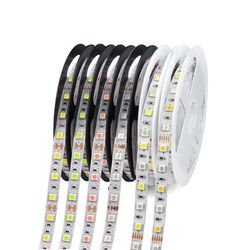 1 Roll 5M Waterproof 12V LED Strip Light 5050 RGB RGBW RGBWW Pink Ice Blue Red Green Diode Tape LED Lamp Home Holiday Decoration