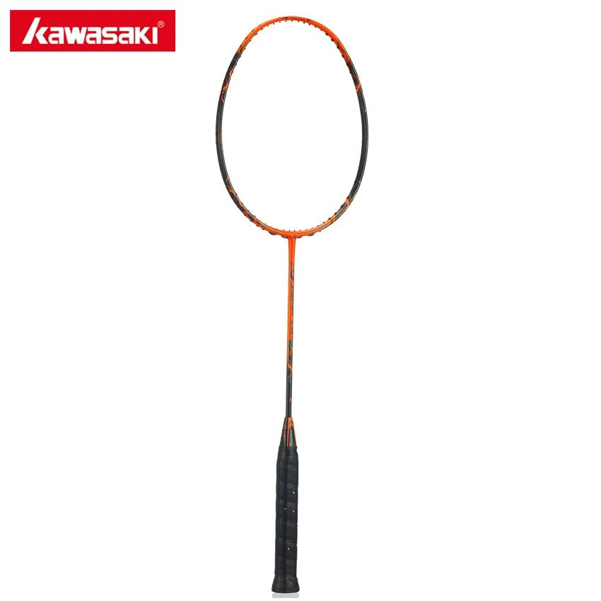 Kawasaki Firefox 570 Badminton Racket Ball Control Type Airfoil Frame Structure Carbon Racquet for Amateur Intermediate Player