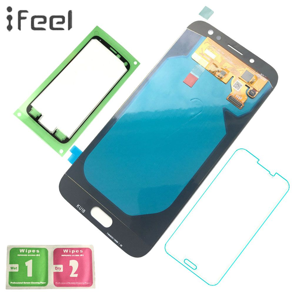 IFEEL Super AMOLED LCD Display Touch Screen Digitizer Assembly For Samsung Galaxy J7 2017 J730 J730F J730FM With Free Shipping
