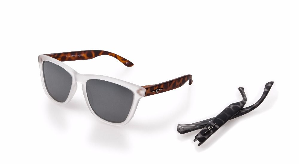 winszenith 39 2018 Fashion Sunglasses Unisex UV400 Sliver Lenses Eyes Women Hawksbill Glasses Polarized