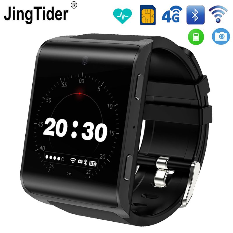 JT2018 4G Smart Watch Android 6.0 MTK6737 Quad Core 1GB/16GB Bluetooth Smartwatch 900 mAh 1.54