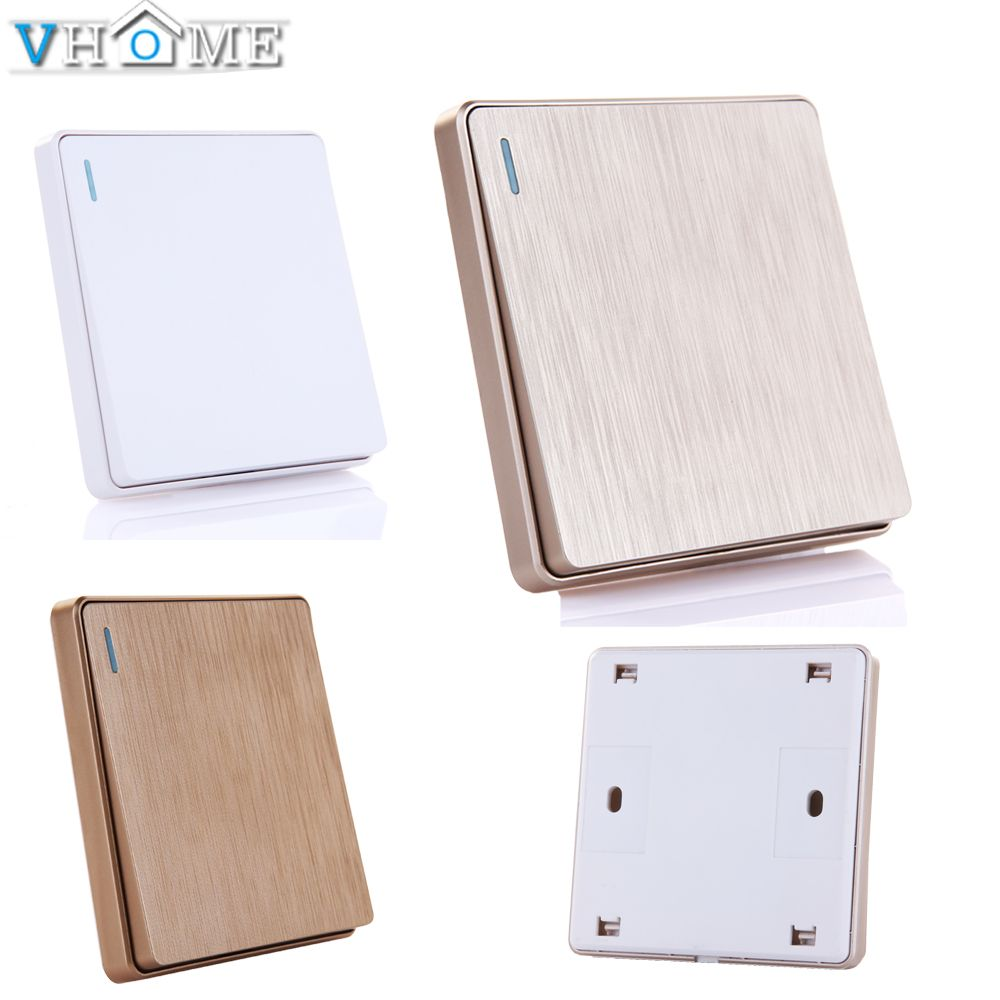Vhome new design RF 433mhz Wall Panel remote control Transmitter for Hall Bedroom Ceiling Lights Wall Lamps Wireless Garage Door