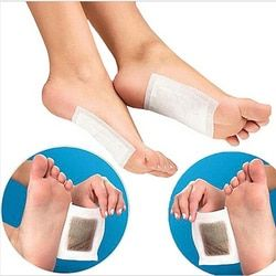 Fashion 10Pcs/Bag Herbal Detox Foot Pads Patches Feet Care Medical Plaster Foot Remover Relieving Pain Foot Massager