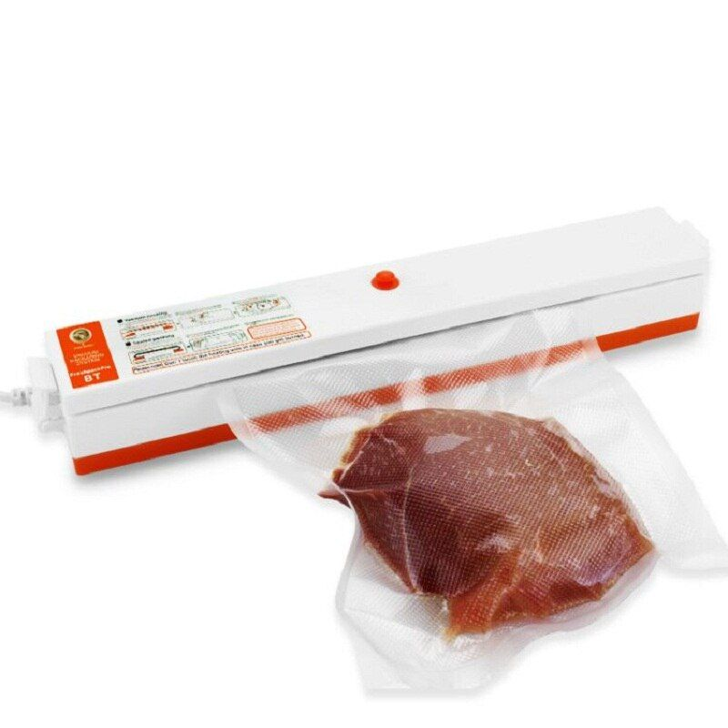 220 V/110 V Alimentaire Des Ménages Vide Scellant Machine D'emballage Film Scellant Vide Packer Y Compris 20 Pcs Sacs