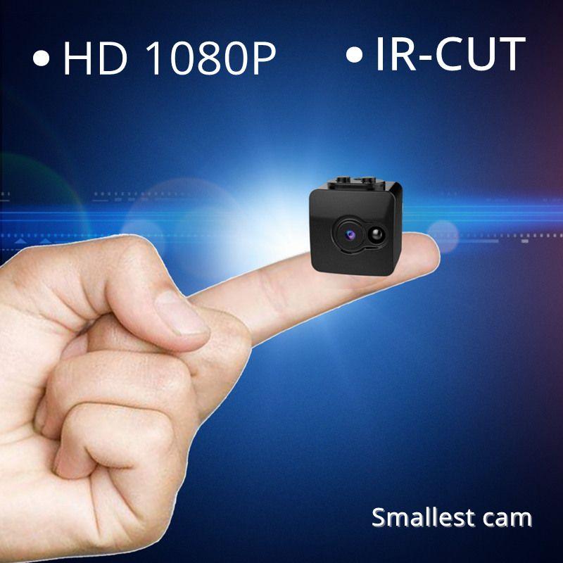 1080P Full HD Mini Secret Camera Infrared Night Vision IR-CUT Micro Camcorder Smallest Nanny Cam Security Portable Kamera DV DVR