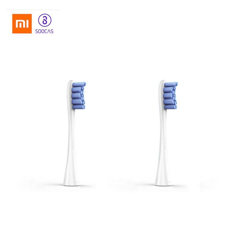 Oclean Un/SE 2 pièces têtes de brosse de rechange Pour brosse à dents électrique à ultrasons conçu pour Oclean SE Automatique Sonic brosse à dents