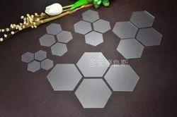 10 pcs en plastique hexagone Patchwork Modèles 22mm/35mm/40mm Main BRICOLAGE outils Grand-Mère jardin Hexagonal