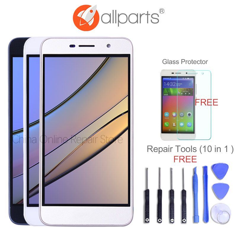 ORIGINAL 5.0'' Display For HUAWEI Honor 4C Pro TIT-L01 LCD Touch Screen with Frame For HUAWEI Y6 Pro Display Replacement