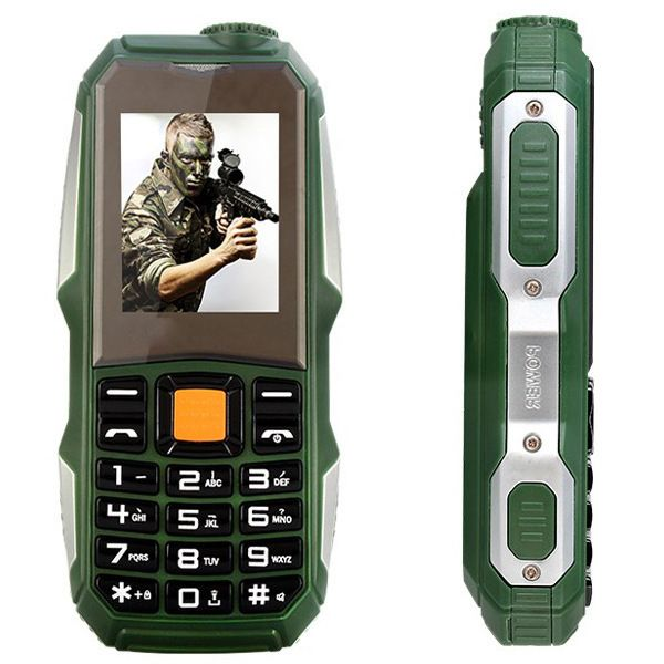 New Unlocked Qualité Prix Bas Mobile Avec Caméra MP3 FM Antichoc Antipoussière Robuste Sport S8 Pas Cher Téléphone