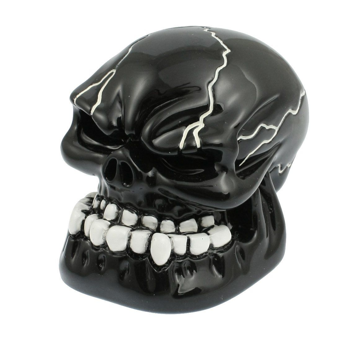 Promotion! Black Carved Skull Universal Auto Car Gear Stick Shift Knob Cover