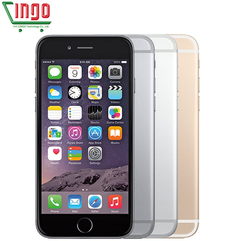 Original Apple iPhone 6 Plus IOS9 16/64/128GB ROM 5.5 inch IPS 8.0MP Fingerprint 4G LTE Smart Phone WIFI GPS Used iPhone 6 plus
