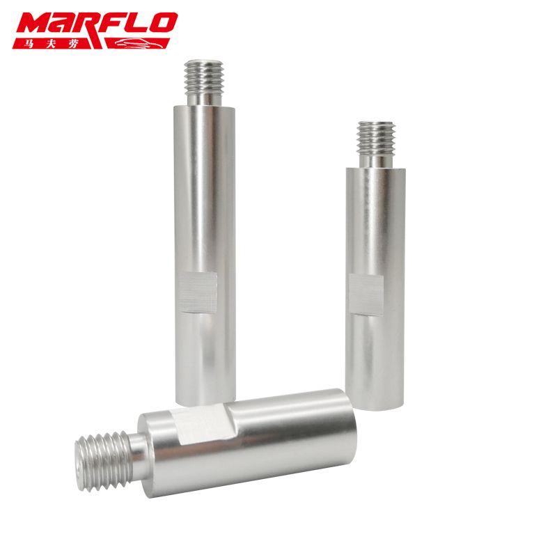 Arbre d'extension de polisseuse rotative MARFLO Alu M14 pour accessoires de polissage d'entretien automobile