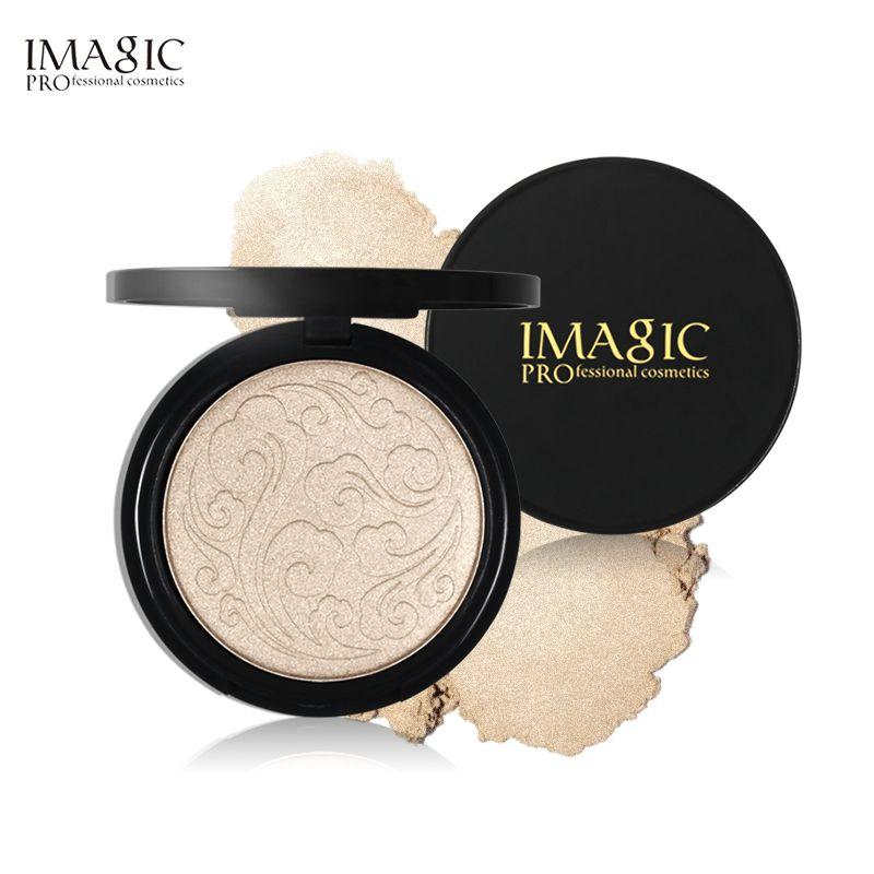 IMAGIC surligneur poudre Maquillage professionnel bronzeur Maquillage poudre illuminateur Imagic éclaircissant surligneur