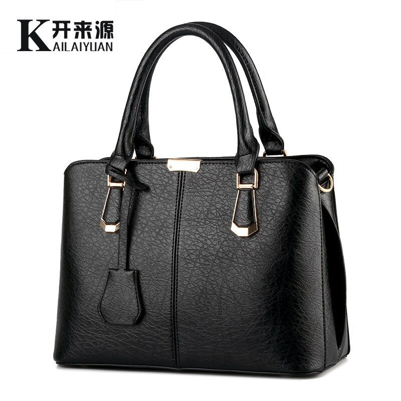 KLY 100% Genuine leather Women handbag 2018 New Sweet fashion handbag Crossbody Shoulder Handbag women messenger bags