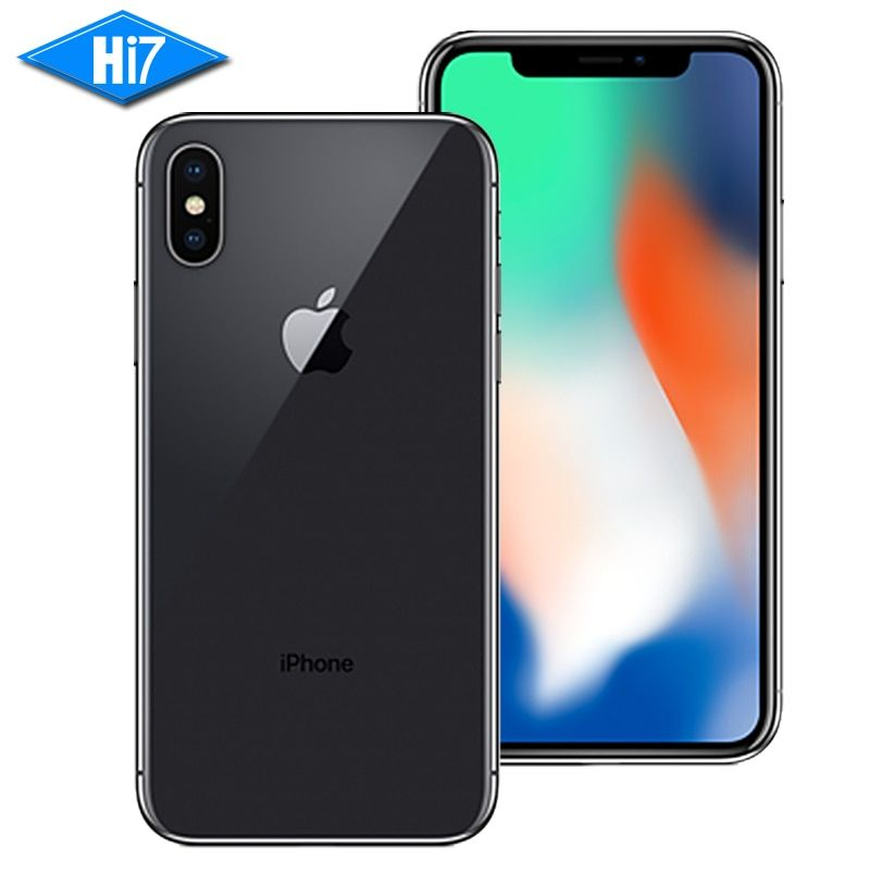 New Original Apple iphone X 64GB/256GB ROM 3GB RAM Face ID 12MP 5.8 inch 2716mAh Hexa Core iOS 4G LTE Smart Unlock Mobile Phone